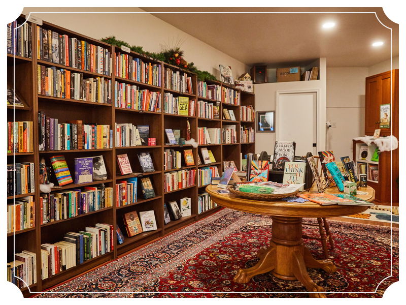 Our beautiful bookstore - winter 2019